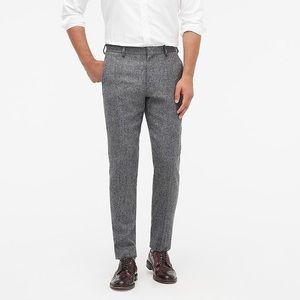 J. Crew Bowery Slim grey Wool Pants size31x30